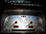 Golf 3 Tacho, rote Displaybeleuchtung, rote Tachozeiger